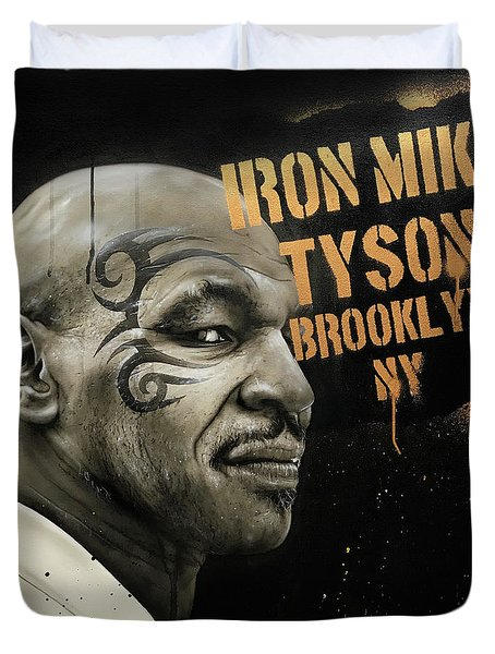Iron Mike Duvet Cover