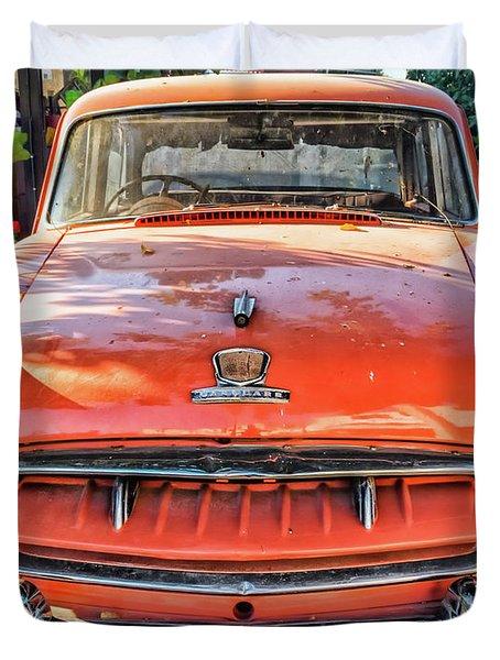 Miki's Car Duvet Cover