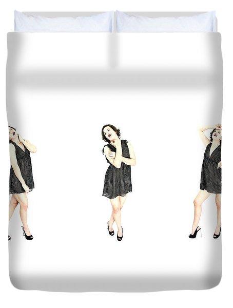 Mikki 4 Duvet Cover