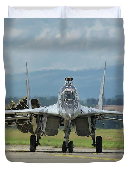 Mikoyan-gurevich Mig-29ubs Duvet Cover