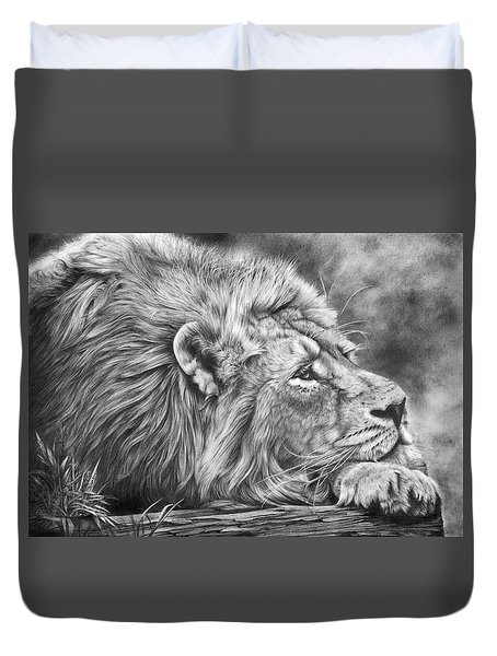 Miles Away Duvet Cover