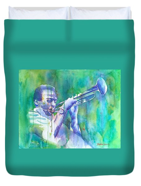 Miles Is Cool Duvet Cover