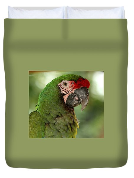 Military Mccaw Duvet Cover by Sheila Brown