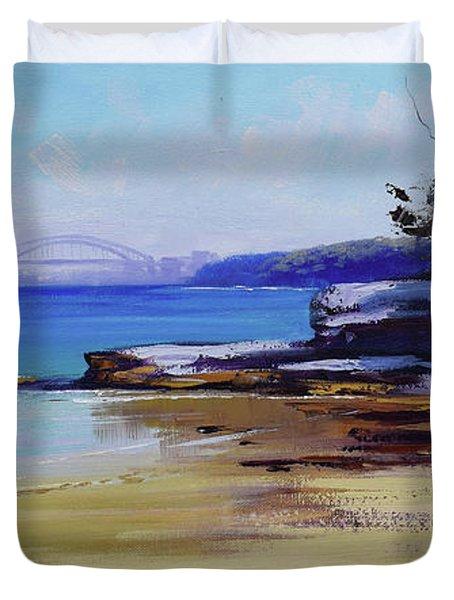 Milk Beach Sydney Duvet Cover