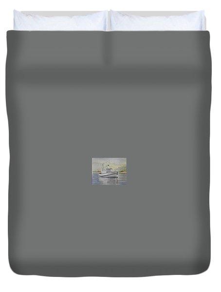 Milkshake Boat Duvet Cover