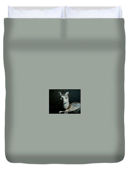 Milkshake The Cat Duvet Cover