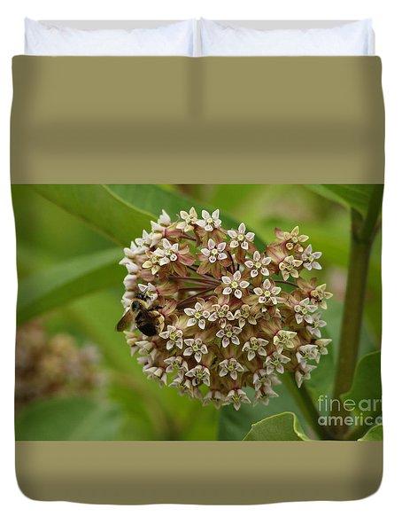 Milkweed Bloom Duvet Cover