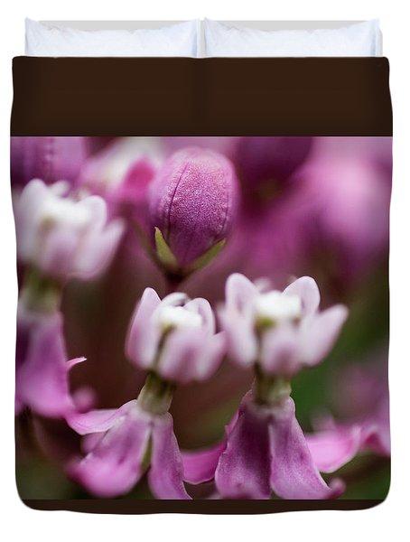 Milkweed Macro Duvet Cover