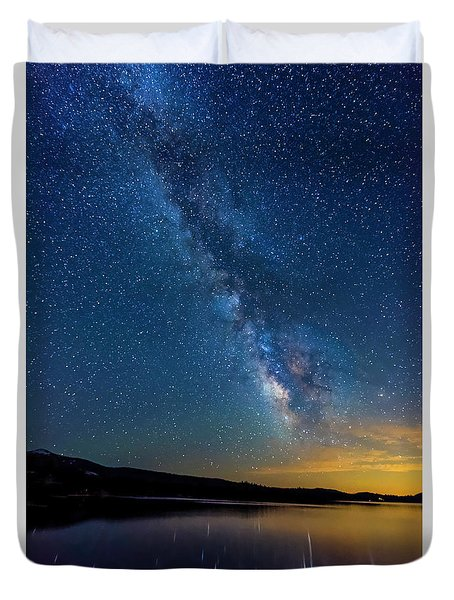 Milky Way 6 Duvet Cover