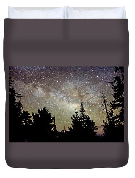 Milky Way From Mt. Graham Duvet Cover