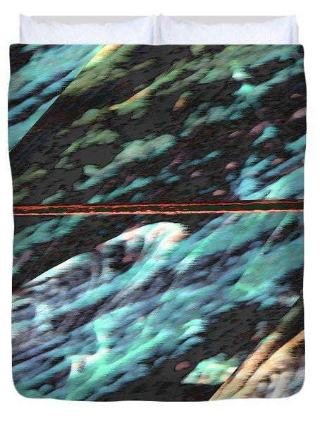Milky Way Duvet Cover by Lenore Senior