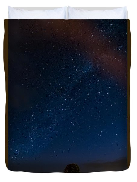 Milky Way  Duvet Cover by Martin Capek