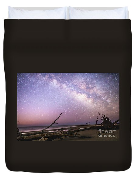 Milky Way Roots Duvet Cover