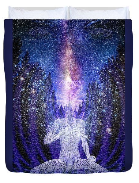 Milkyway Awakening Duvet Cover by Robby Donaghey