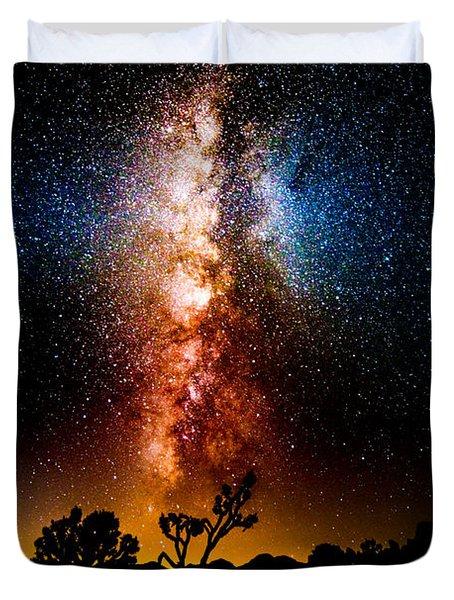 Milkyway Explosion Duvet Cover