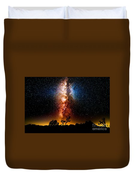 Milkyway Explosion Duvet Cover