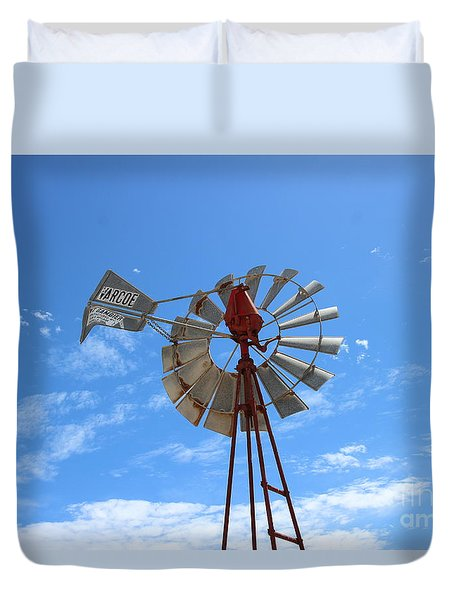 Milled Wind Duvet Cover by Stephen Mitchell