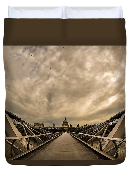 Millennium Bridge Duvet Cover