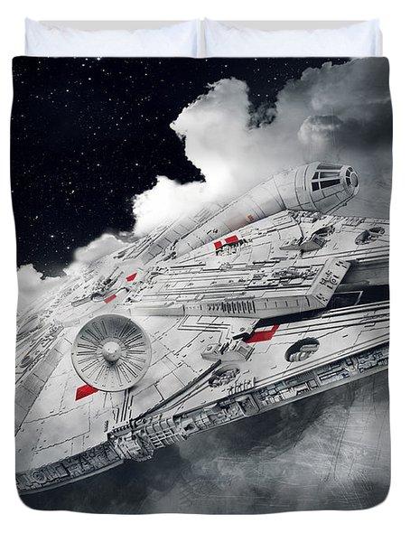 Millennium Falcon Duvet Cover