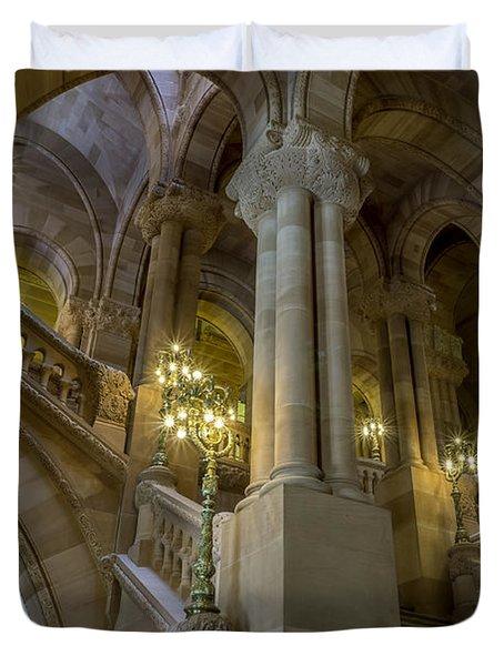 Million Dollar Staircase Duvet Cover