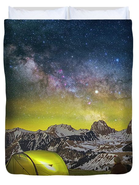 Million Star Hotel Duvet Cover