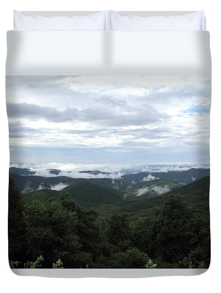 Mills River Valley View Duvet Cover