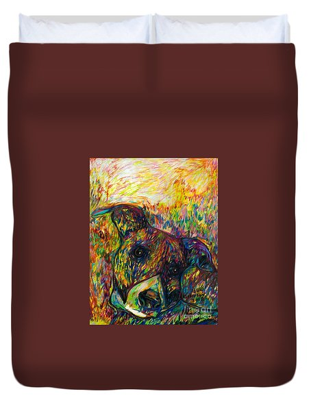 Milo Two Duvet Cover