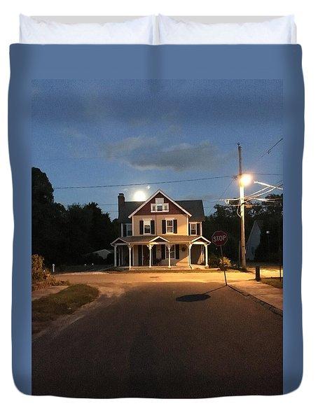 Milton Historic Collins  Duvet Cover