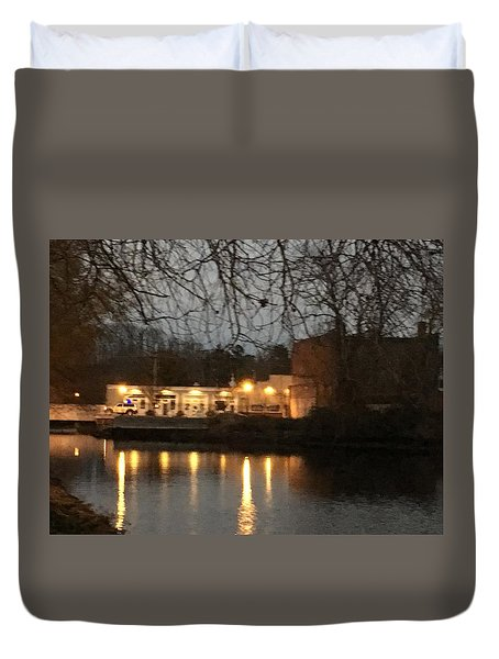 Milton On The Water Duvet Cover