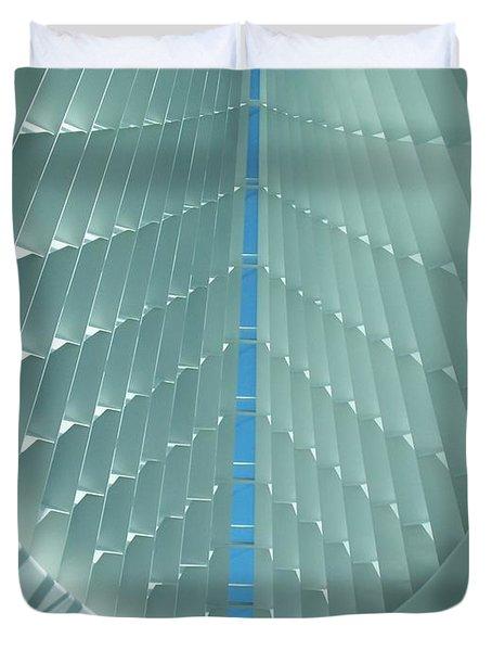 Milwaukee Art Museum Interior Duvet Cover