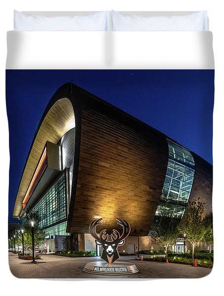 Milwaukee Bucks Duvet Cover