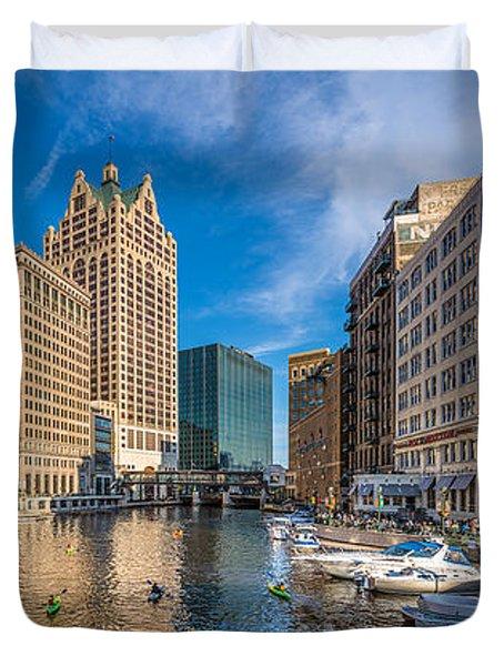 Milwaukee Summer Nights Duvet Cover