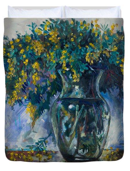 Mimosa Duvet Cover