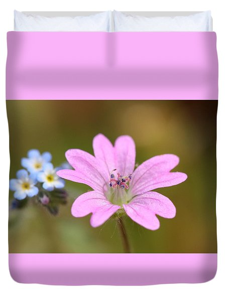 Minature World Duvet Cover