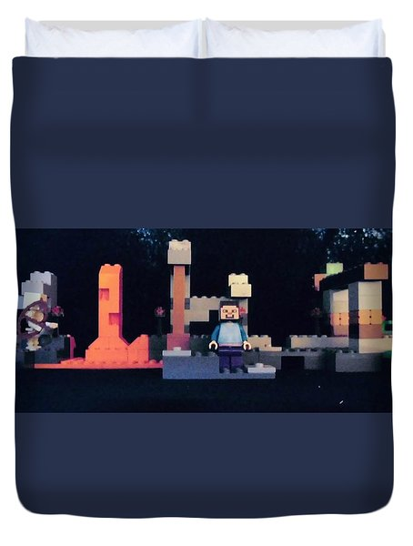 Mincraft Home Duvet Cover