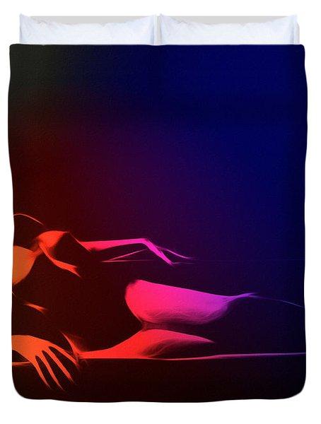 Mind Art Roxanne Color Duvet Cover