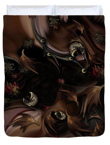 Mind-bending Nature Duvet Cover