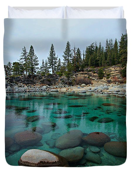Mind Blowing Clarity Duvet Cover