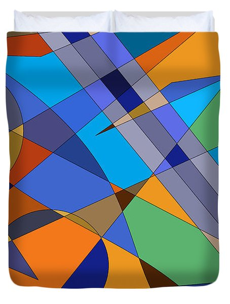 Mind Games Duvet Cover