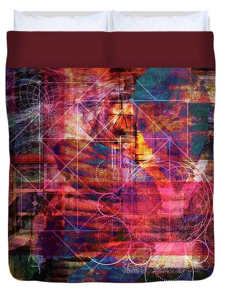 Mind Matter Duvet Cover