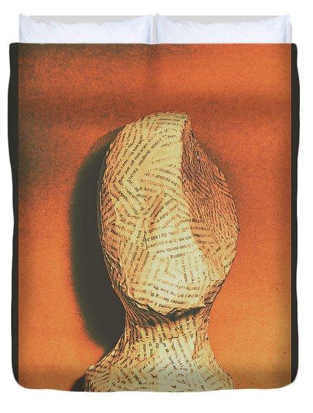 Mind Of A Philosopher Duvet Cover