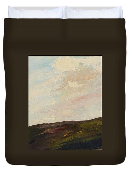 Mindful Landscape Duvet Cover