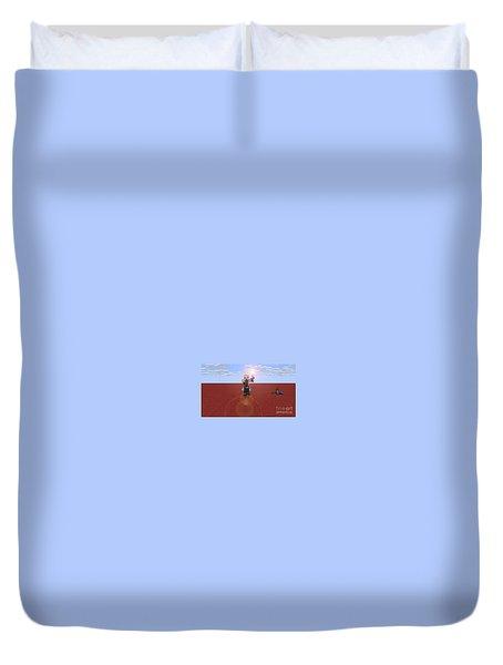 Minecraft Knight Duvet Cover