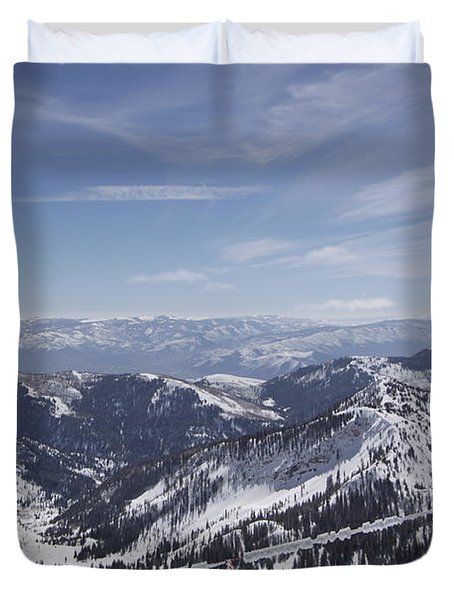 Mineral Basin Duvet Cover by Adam Jewell