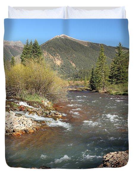 Mineral Creek Duvet Cover