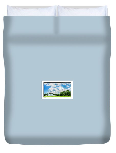 Mingoville Clouds Duvet Cover by R Thomas Berner