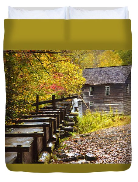Mingus Mill Painted Duvet Cover