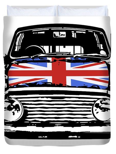 Mini British Classic Duvet Cover