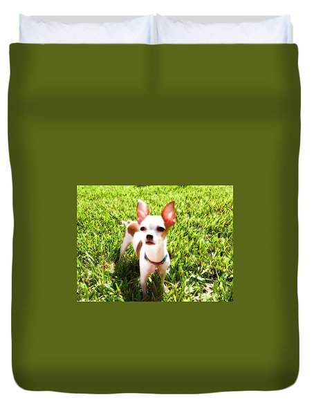 Mini Dog Duvet Cover