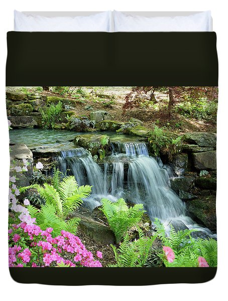 Mini Waterfall Duvet Cover